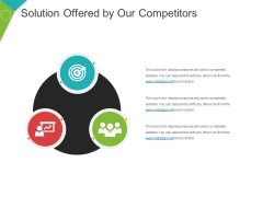 Solution Offered By Our Competitors Ppt PowerPoint Presentation Show Aids