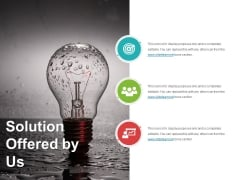 Solution Offered By Us Ppt PowerPoint Presentation Summary Brochure