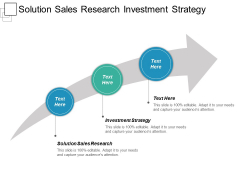 Solution Sales Research Investment Strategy Ppt PowerPoint Presentation Visual Aids Diagrams
