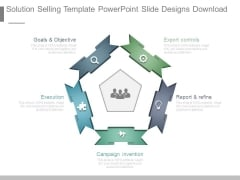 Solution Selling Template Powerpoint Slide Designs Download