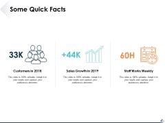 Some Quick Facts Ppt PowerPoint Presentation Portfolio Example