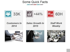 Some Quick Facts Ppt PowerPoint Presentation Styles Diagrams