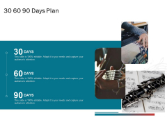 Sound Production Firm Agreement Proposal 30 60 90 Days Plan Ppt Layouts Samples PDF