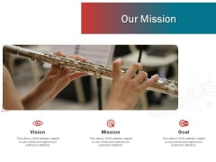 Sound Production Firm Agreement Proposal Our Mission Ppt Model Grid PDF