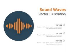 Sound Waves Vector Illustration Ppt PowerPoint Presentation Model Mockup