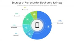 Sources Of Revenue For Electronic Business Ppt Pictures Rules PDF