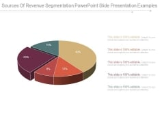 Sources Of Revenue Segmentation Powerpoint Slide Presentation Examples