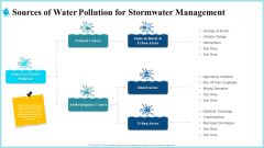 Sources Of Water Pollution For Stormwater Management Information PDF