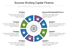 Sources Working Capital Finance Ppt PowerPoint Presentation Icon Cpb