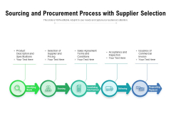 Sourcing And Procurement Process With Supplier Selection Ppt PowerPoint Presentation Inspiration Layouts PDF