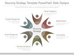 Sourcing Strategy Template Powerpoint Slide Designs