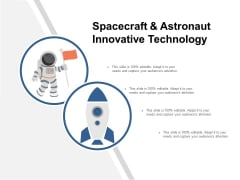 Spacecraft And Astronaut Innovative Technology Ppt PowerPoint Presentation Slides Microsoft