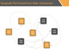 Spaghetti Plot Powerpoint Slide Introduction