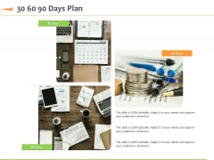 Speaking Engagement 30 60 90 Days Plan Ppt Slides Master Slide PDF