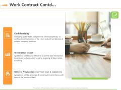 Speaking Engagement Work Contract Contd Ppt Portfolio Show PDF