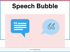 Speech Bubble Communication Rotating Arrows Ppt PowerPoint Presentation Complete Deck