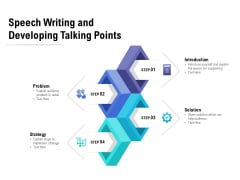 Speech Writing And Developing Talking Points Ppt PowerPoint Presentation Icon Slide Download