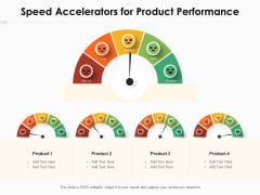 Speed Accelerators For Product Performance Ppt PowerPoint Presentation Infographic Template Slide PDF