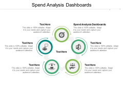 Spend Analysis Dashboards Ppt PowerPoint Presentation Layouts Good Cpb