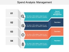 Spend Analysis Management Ppt PowerPoint Presentation Infographic Template Infographics