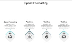 Spend Forecasting Ppt PowerPoint Presentation Slides Tips Cpb Pdf
