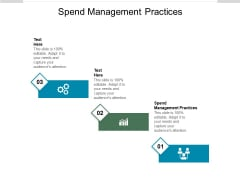 Spend Management Practices Ppt PowerPoint Presentation File Deck Cpb Pdf