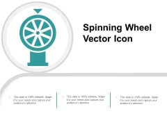 Spinning Wheel Vector Icon Ppt PowerPoint Presentation File Portrait Cpb