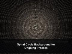 Spiral Circle Background For Ongoing Process Ppt Powerpoint Presentation Inspiration Outline