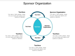 Sponsor Organization Ppt PowerPoint Presentation Gallery Ideas Cpb