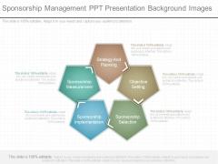 Sponsorship Management Ppt Presentation Background Images