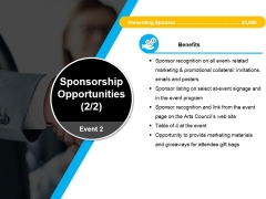 Sponsorship Opportunities Template 3 Ppt PowerPoint Presentation Styles File Formats
