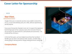 Sponsorship Request Letter Samples Cover Letter For Sponsorship Background PDF