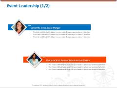 Sponsorship Request Letter Samples Event Leadership Coordinator Mockup PDF
