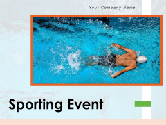 Sporting Event Winning Cycle Cyclists Competing Ppt PowerPoint Presentation Complete Deck