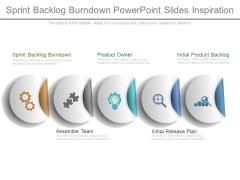 Sprint Backlog Burndown Powerpoint Slides Inspiration