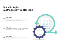 Sprint In Agile Methodology Vector Icon Ppt PowerPoint Presentation File Pictures PDF