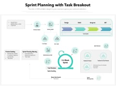 Sprint Planning With Task Breakout Ppt PowerPoint Presentation File Graphics Download PDF