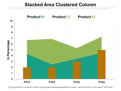 Stacked Area Clustered Column Ppt PowerPoint Presentation Layouts Templates