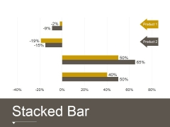 Stacked Bar Template 2 Ppt PowerPoint Presentation Deck