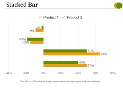 Stacked Bar Template 2 Ppt PowerPoint Presentation Inspiration