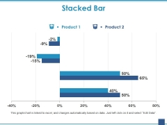Stacked Bar Template 2 Ppt PowerPoint Presentation Show Clipart