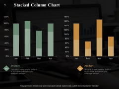 Stacked Column Chart Finance Ppt PowerPoint Presentation Summary Graphics Example