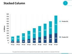 Stacked Column Marketing Planning Ppt PowerPoint Presentation Model Icon