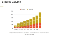 Stacked Column Ppt PowerPoint Presentation Ideas Aids