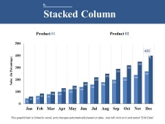 Stacked Column Ppt PowerPoint Presentation Model Information