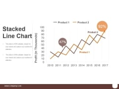 Stacked Line Chart Ppt PowerPoint Presentation Shapes