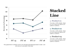 Stacked Line Ppt PowerPoint Presentation Icon Professional