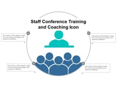 Staff Conference Training And Coaching Icon Ppt PowerPoint Presentation Clipart