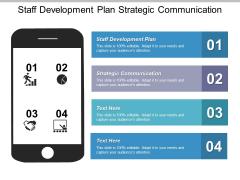 Staff Development Plan Strategic Communication Ppt PowerPoint Presentation Outline Slideshow