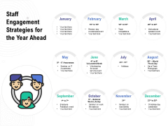 Staff Engagement Strategies For The Year Ahead Ppt PowerPoint Presentation File Example Topics